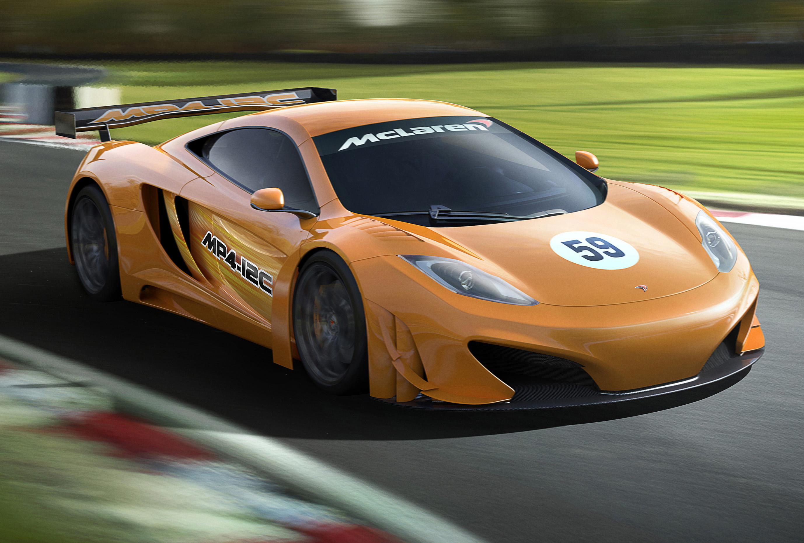 GT - Mclaren to return to GT racing - Motor Sport Press   For the ...
