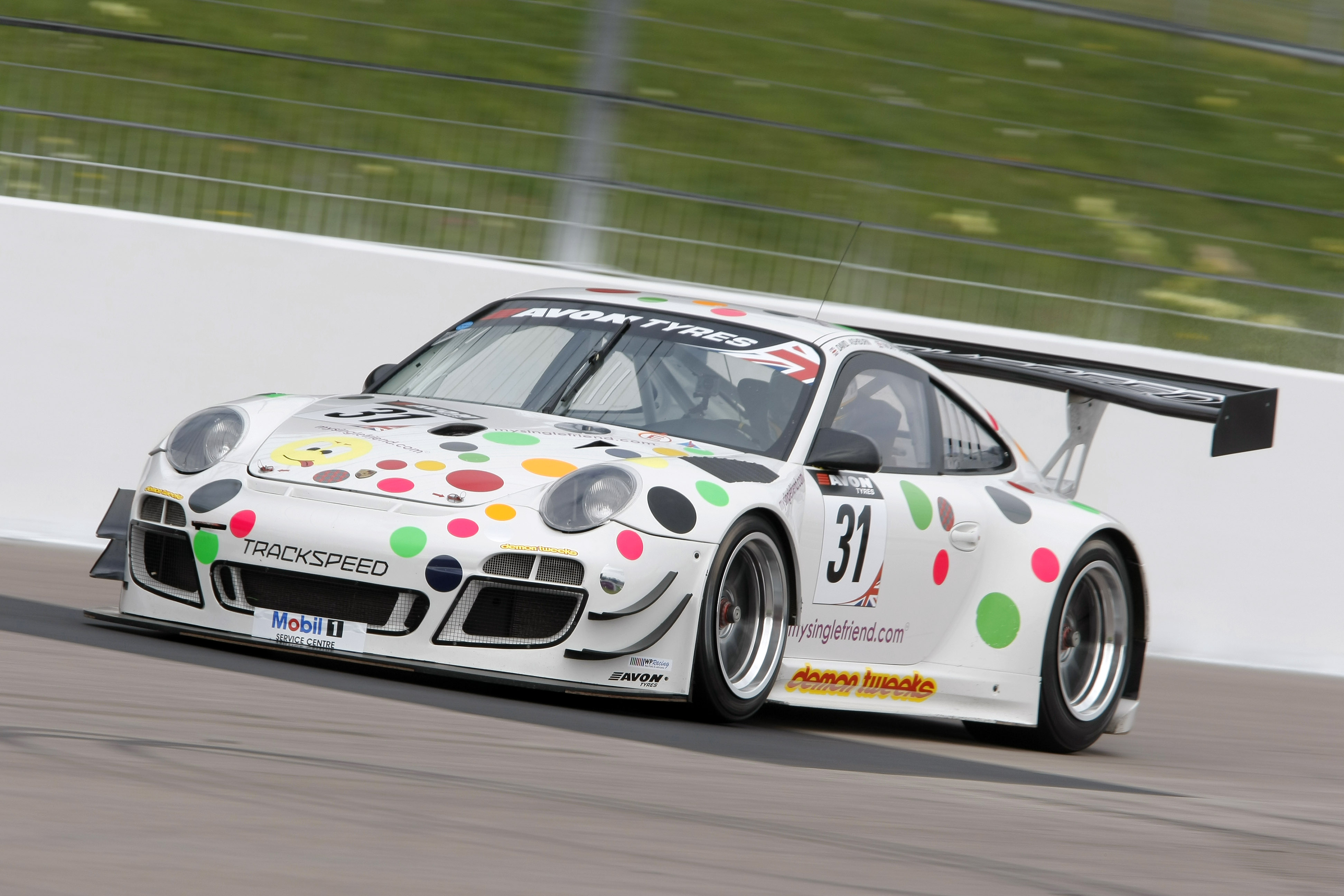 David Ashburn / Nick Tandy Trackspeed Porsche 997 GT3R