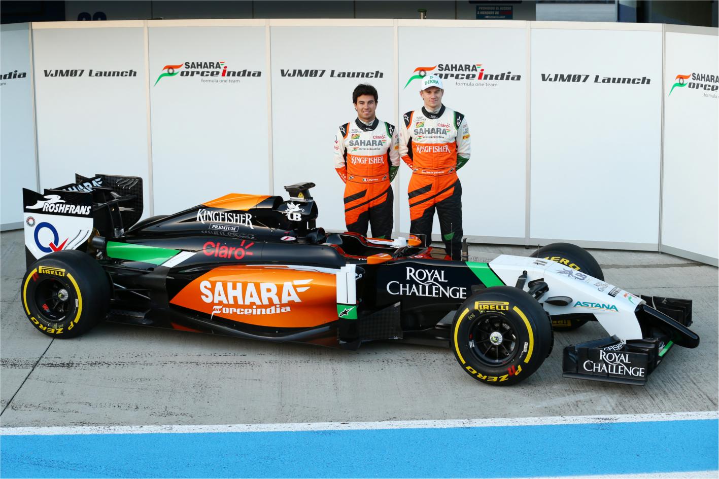 Sahara Force India VJM07