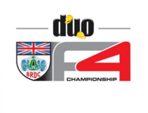 BRDC F4: 2016 BRDC F4 Calendar Announced
