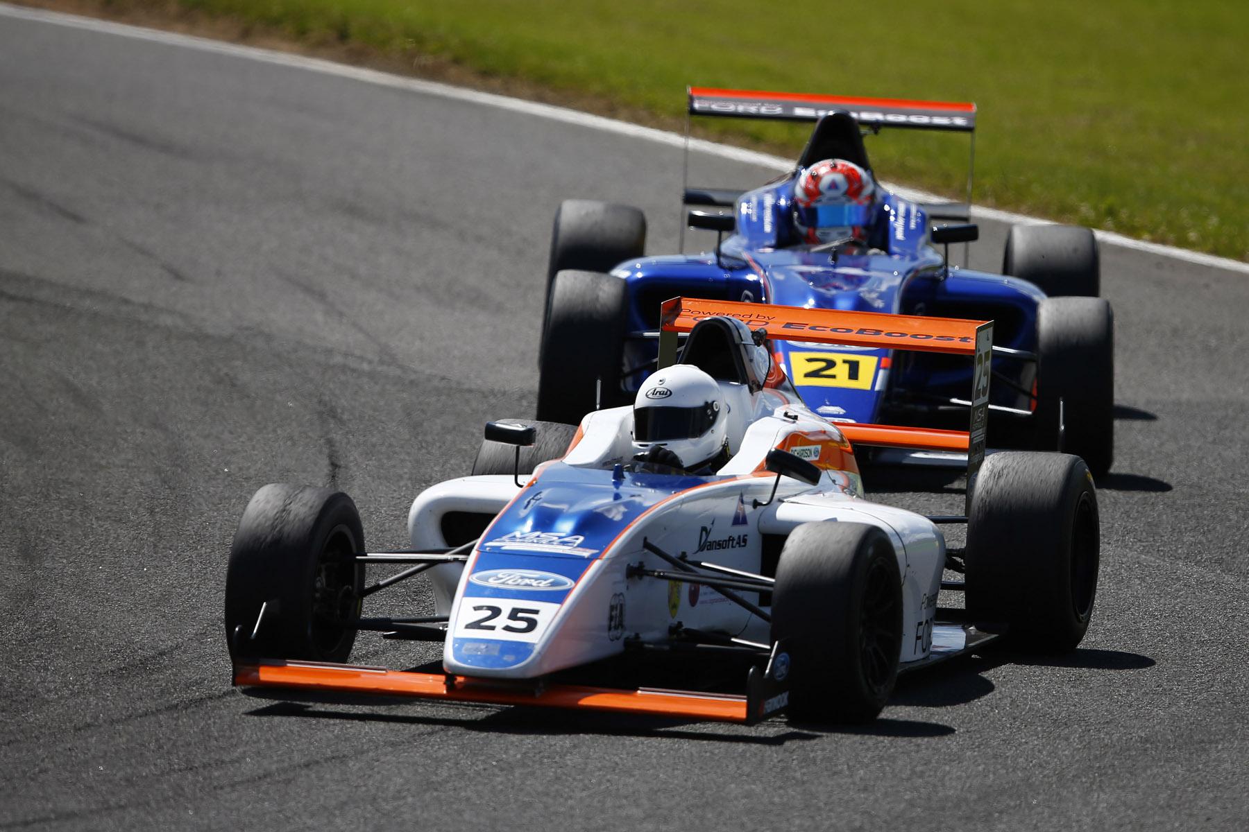 MSA Formula Ford Powered Racers Revved Up For Snetterton Motor