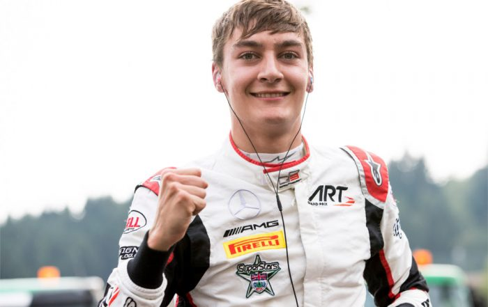 George Russell, ART Grand Prix, Circuit de Spa-Francorchamps (1)
