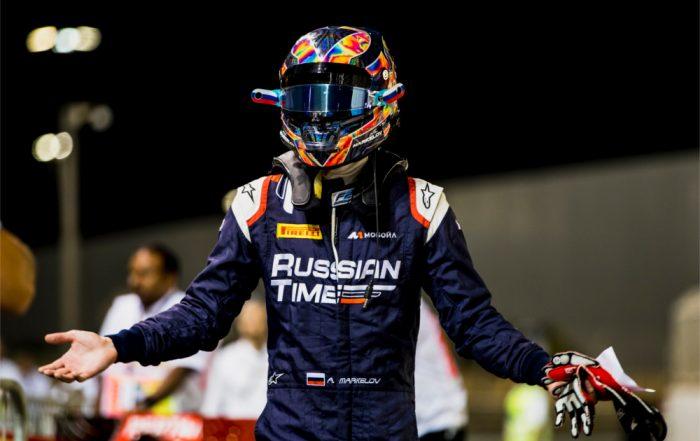 Artem Markelov, RUSSIAN TIME, Yas Marina Circuit (a)