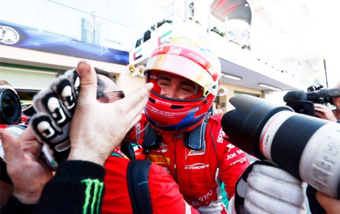 Charles Leclerc (PREMA Racing ) Yas Marina (a)