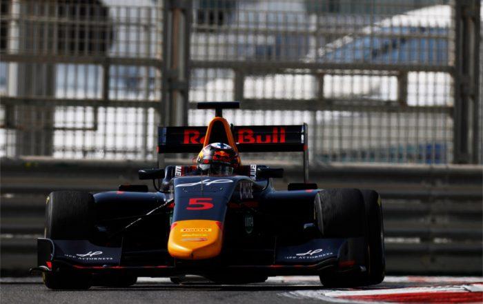 Niko Kari, Arden International, Yas Marina Circuit (a)