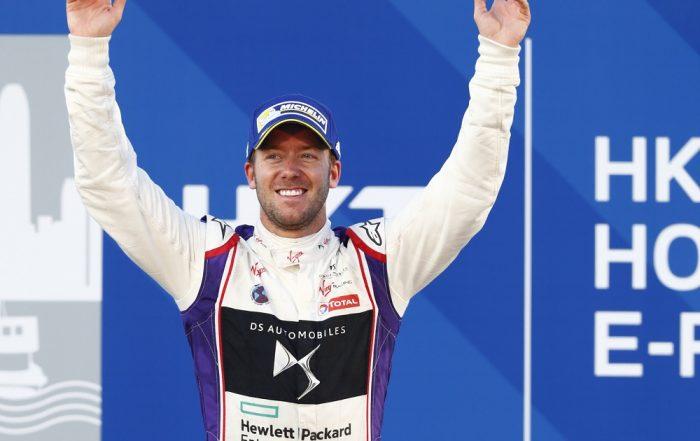 Briton Sam Bird wins the opening Formula E race in Hong Kong for DS Virgin Racing