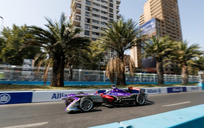 DS Virgin Racing's Sam Bird kept up his title bid with fifth in today's Formula E race in Santiago