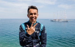 Alexander Albon (DAMS) Monaco (a)