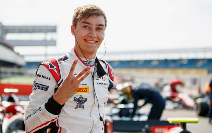 George Russell (ART Grand Prix).Silverstone 1 (a)