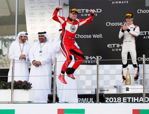 Nikita Mazepin flies to final GP3 victory